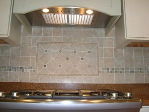 Amityville Horror House - Range Backsplash After